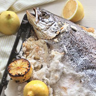 Рыба всоли | Рецепты с фото