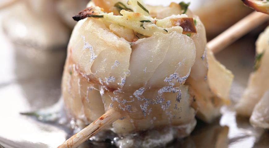 Рыбные рулеты с яблоками | Рецепты с фото
