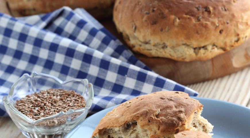 Ржано-пшеничный хлеб с семенами | Рецепты с фото