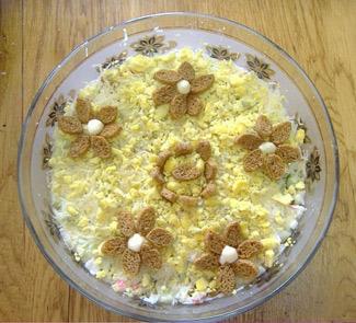 Салат Играем в прятки | Рецепты с фото