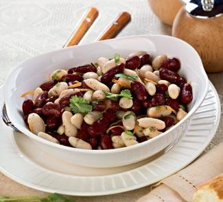 Салат из фасоли с итальянской заправкой | Рецепты с фото