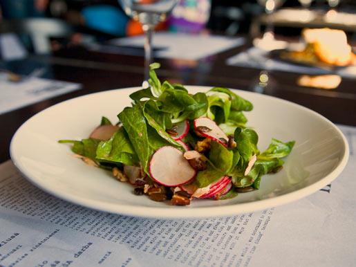 Салат из копченого лосося | Рецепты с фото