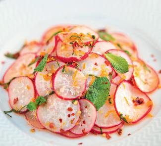 Салат из редиса | Рецепты с фото