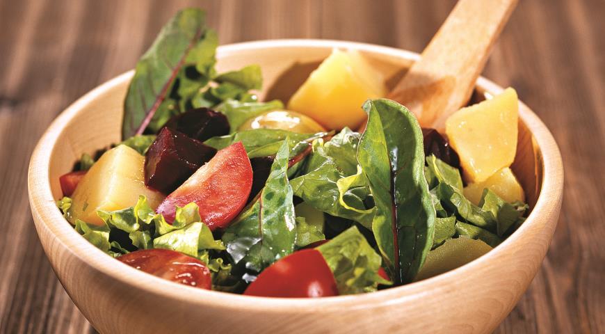 Салат из свеклы | Рецепты с фото
