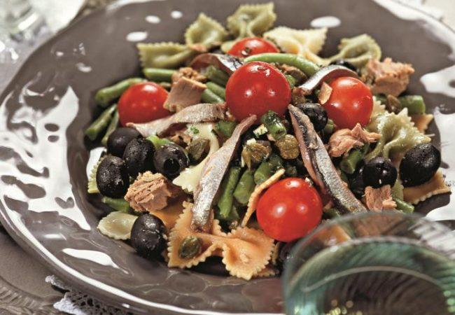 Салат из тунца с макаронами | Рецепты с фото