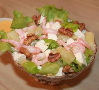 Салат-коктейль Дикая креветка | Рецепты с фото
