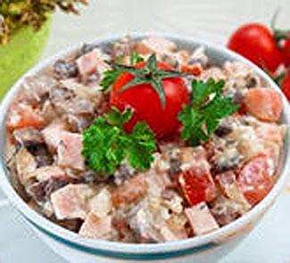 Салат Курица в раю | Рецепты с фото