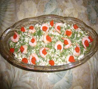 Салат Морское наслаждение | Рецепты с фото