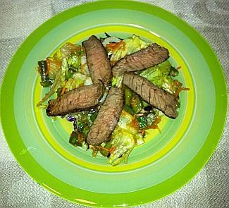 Салат с говядиной | Рецепты с фото