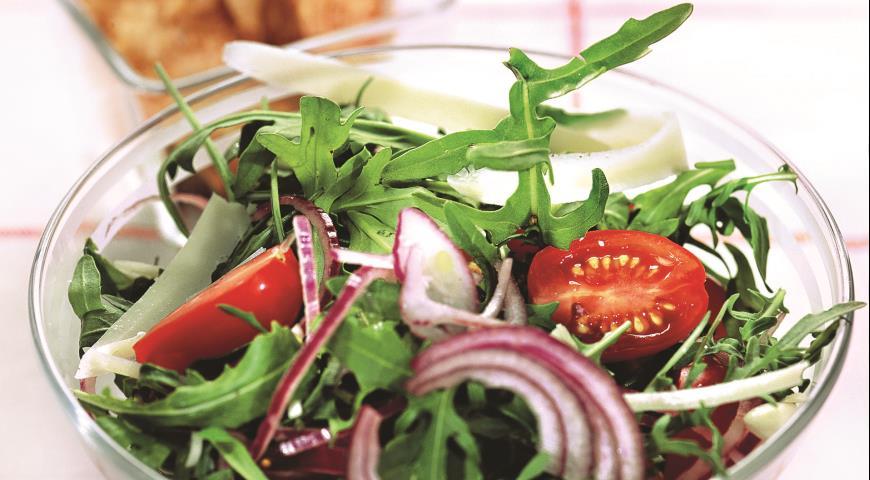 Салат с рукколой | Рецепты с фото