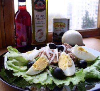 Салат Сан Исидро с тунцом | Рецепты с фото