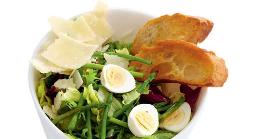 Салат со спаржей | Рецепты с фото