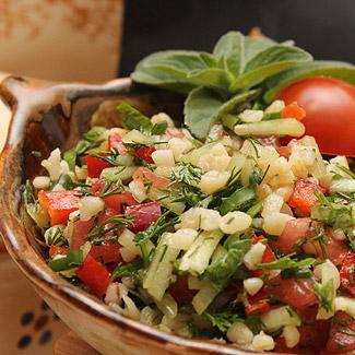 Салат Табуле с булгуром | Рецепты с фото