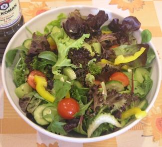 Салат цветной | Рецепты с фото