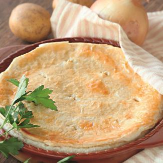 Самый простой картофельный пирог | Рецепты с фото