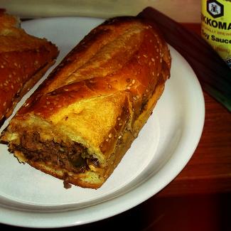 Сэндвич-багет со стейком в кисло-сладком маринаде | Рецепты с фото