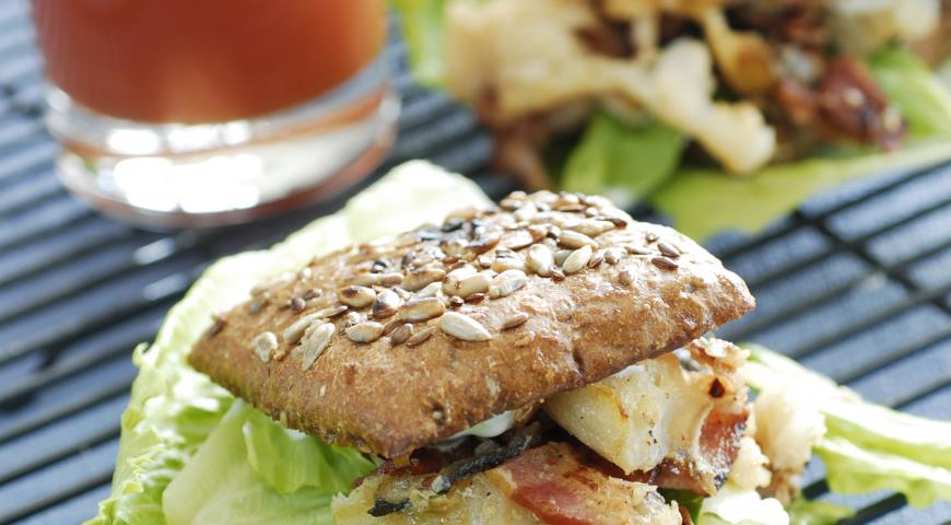 Сэндвичи с треской   Рецепты с фото