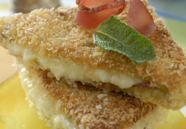 Сэндвичи с ветчиной и сыром | Рецепты с фото