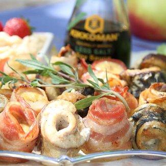Шашлык из рыбы с яблочным соусом | Рецепты с фото