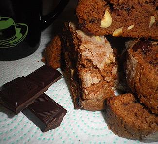 Шоколадное бискотти с фундуком | Рецепты с фото