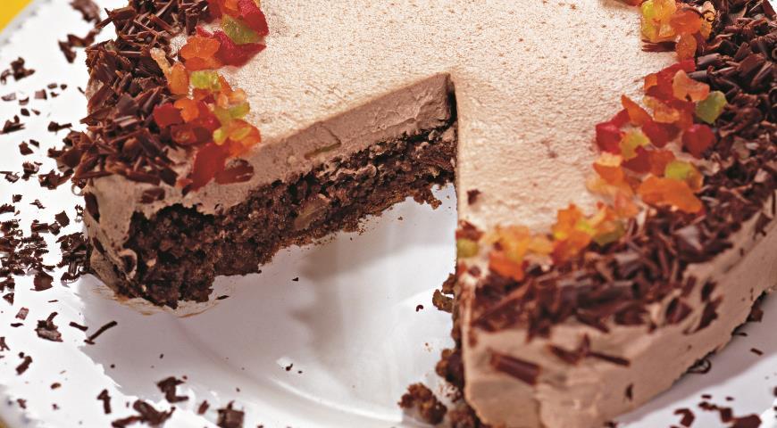 Шоколадный торт с меренгой | Рецепты с фото