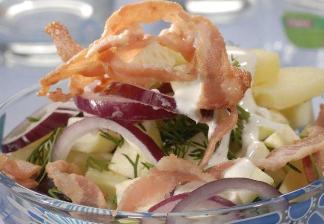 Шведский картофельный салат | Рецепты с фото