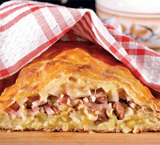 Швейцарский слоеный пирог | Рецепты с фото