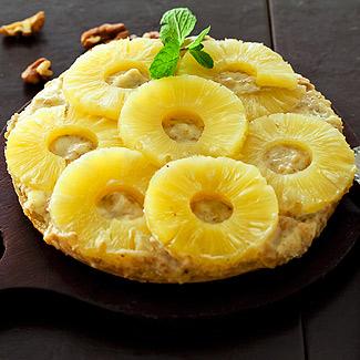 Сладкая пицца с ананасами в мультиварке   Рецепты с фото