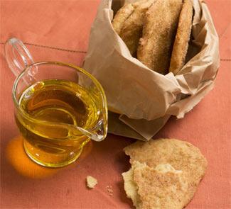 Сладкие лепёшки с оливковым маслом | Рецепты с фото