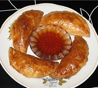 Слоеные пирожки с креветками | Рецепты с фото