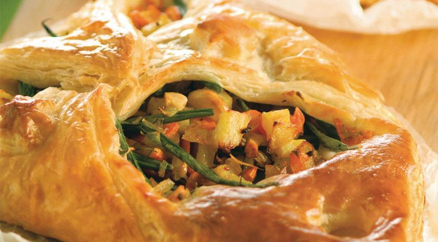 Слоеные пирожки с овощами и кешью | Рецепты с фото