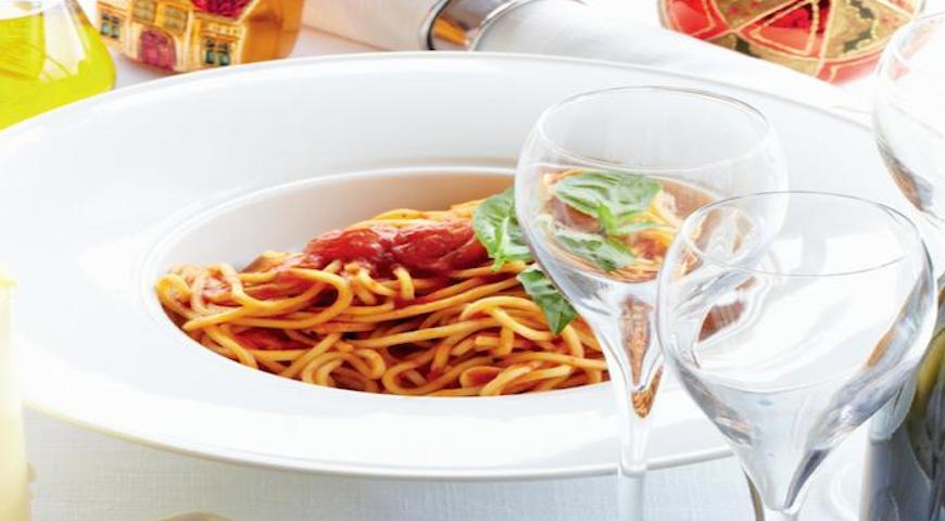 """Спагетти """"Неаполитано""""   Рецепты с фото"""