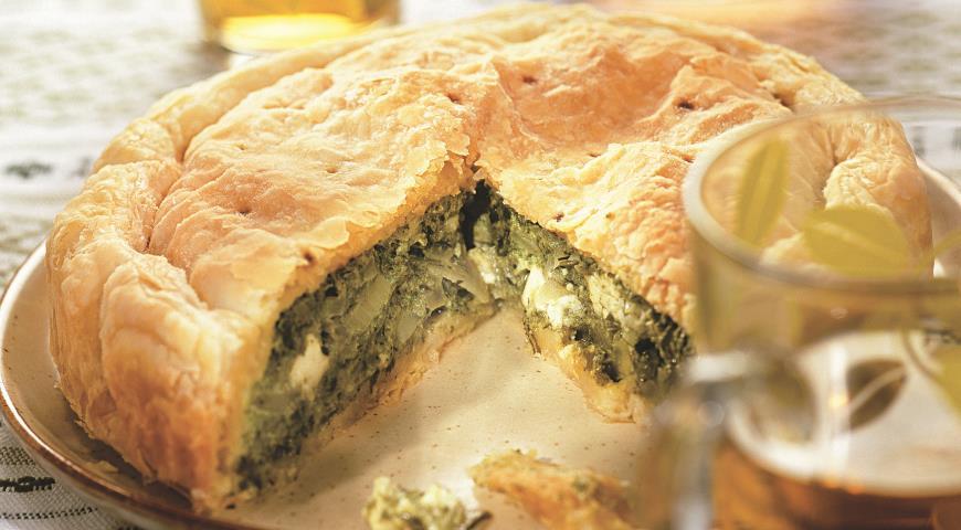 Спанакопитта, пирог со шпинатом | Рецепты с фото