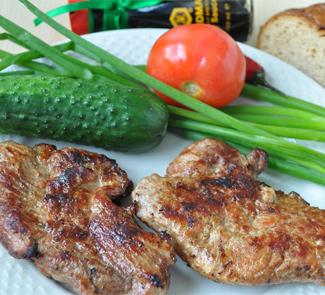 Стейки свиные в соевом соусе с чили | Рецепты с фото