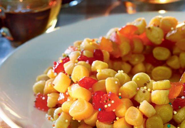 Струффоли, сладкое блюдо | Рецепты с фото