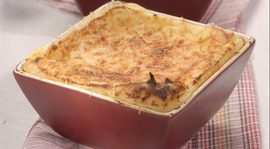 Суфле картофельное с сыром | Рецепты с фото