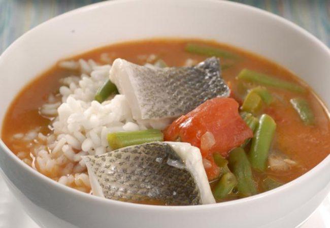 Суп Гамбо из сибаса | Рецепты с фото