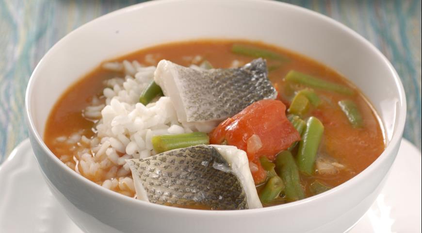 Суп Гамбо из сибаса   Рецепты с фото