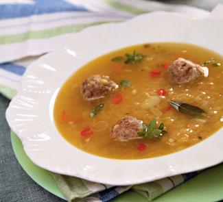 Суп из чечевицы с фрикадельками | Рецепты с фото