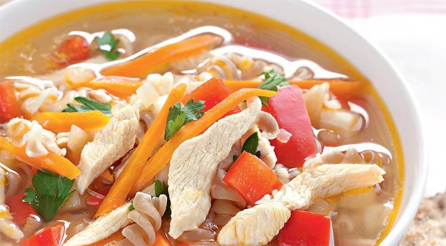 Суп из индейки с лимонным ароматом | Рецепты с фото