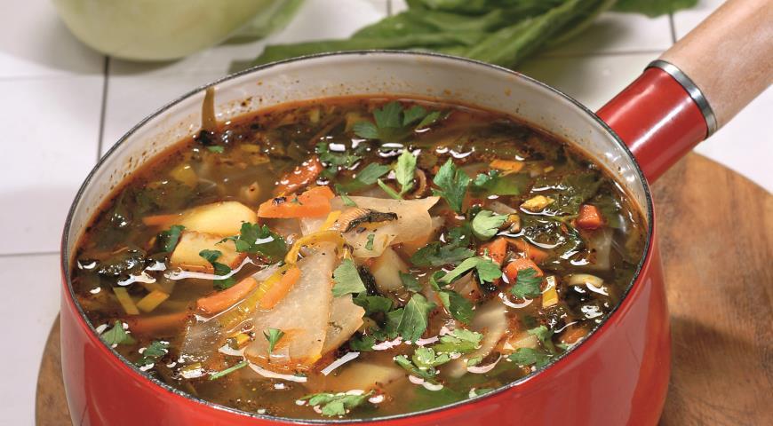 Суп из кольраби | Рецепты с фото