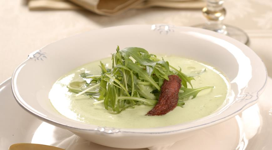 Суп-пюре из руколы | Рецепты с фото