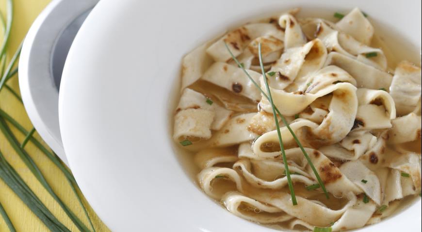 Суп с блинчиками | Рецепты с фото
