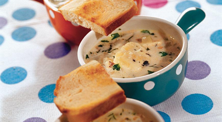 Суп с голубым сыром | Рецепты с фото