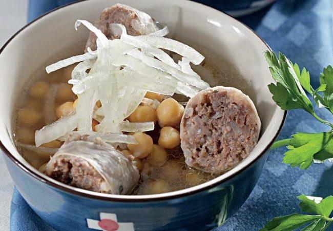 Суп с хасипом и нутом | Рецепты с фото
