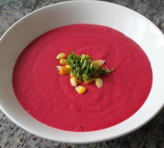 Свекольный суп на кокосовом молоке | Рецепты с фото