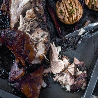 Свиная лопатка, запеченная втечение 6часов | Рецепты с фото