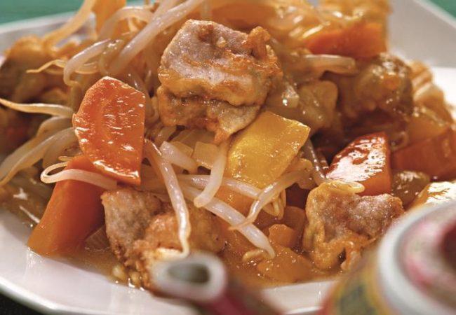 Свинина по-китайски в кисло-сладком соусе | Рецепты с фото