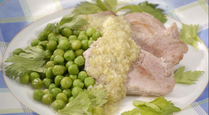Свинина с соусом из киви | Рецепты с фото