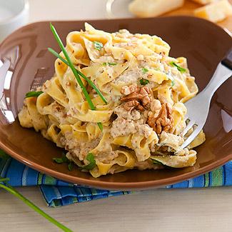 Тальятелле с ореховым соусом в мультиварке | Рецепты с фото
